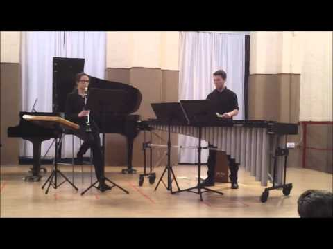 Piazzolla/ Histoire du tango/ Clarinete-Marimba