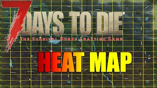 7 Days to Die - Heat Map - How are Zombies Attracted