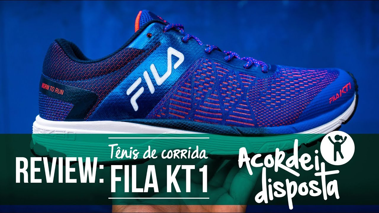 556a087d2f REVIEW  Fila KT1 - YouTube