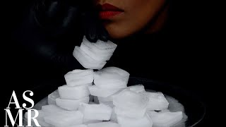 ASMR CARBONATED ICE SQUARES/EXTREME CRUNCH/NO TALKING/ICE EATING SOUNDS/氷を食べる音 /아이스묵방