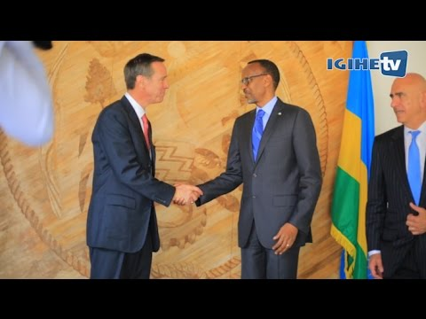 President Kagame received Arne M. Sorenson, CEO of Marriott International (05th October 2016)