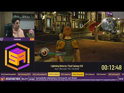Lightning Returns: Final Fantasy XIII [Any% (Normal)] By XShonnen - #ESATogether2020