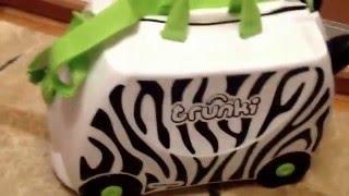 Детский чемодан Trunki Zebra обзор покупателя