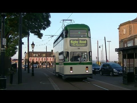 Millenium 718 re-launches in Blackpool Transport Green+Cream - 26th May 2017