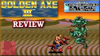 Golden Axe III - Sega Mega Drive Ultimate Collection - PS3 - with Commentary !!