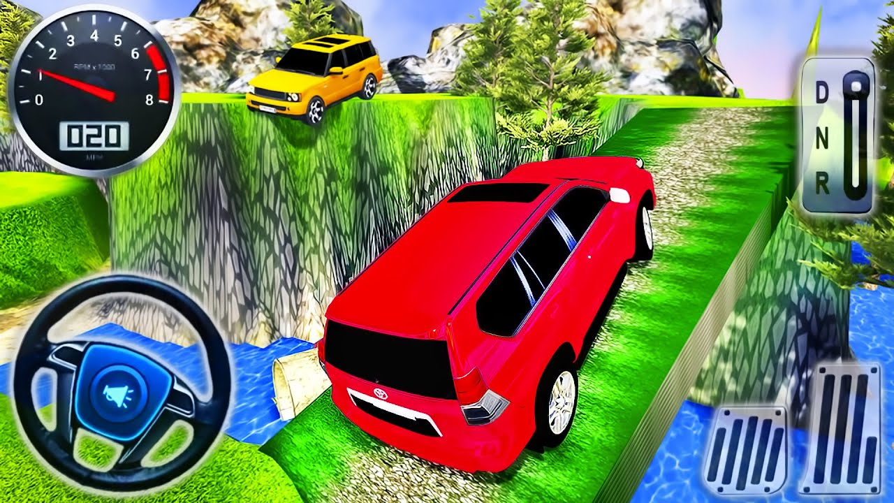 My Holiday Car Green Sport Car Orange Jeep Driving Android Gameplay Youtube