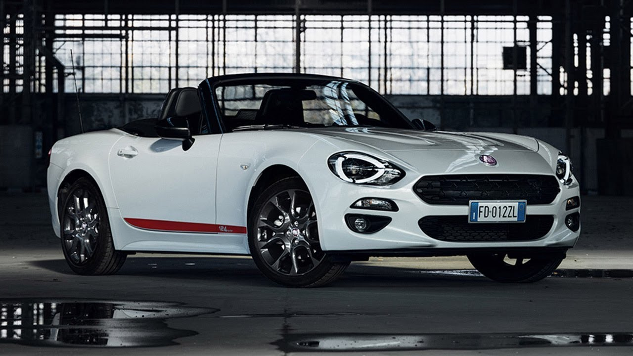 2019 fiat 124 spider s-design - youtube