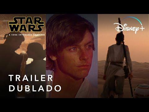 Saga Skywalker Oficial Dublado | Disney+