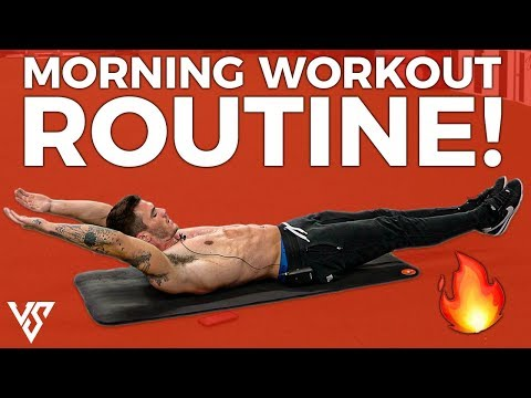 Quick Morning Workout To Burn Tons Of Calories (DO THIS FROM HOME!)