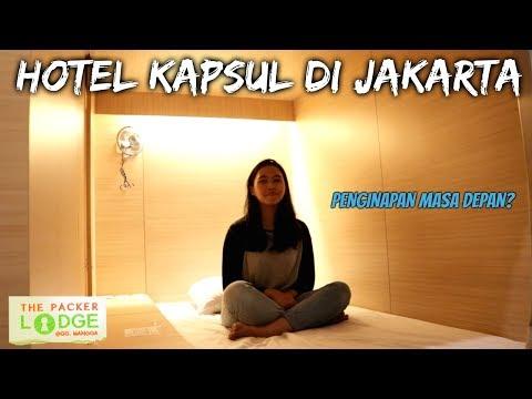 "HOTEL KAPSUL DI JAKARTA ""THE PACKER LODGE"""