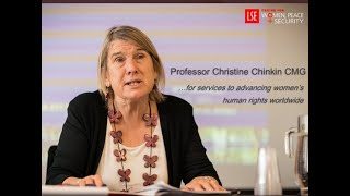 Dr Davina Lloyd Chair CPT Steering Committee interview with Professor Christine Chinkin