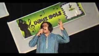 Induz Idols 2007 Anand - Zee TV USA  Saregamapa Finalist 2008