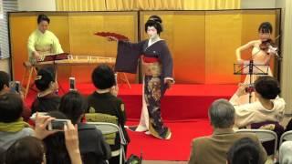 琴・ヴァイオリン「黒田節」(舞踊):麹町邦楽ライブ第9弾