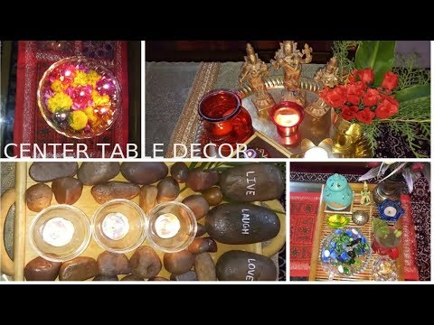 Centre table/ Coffee table decoration ideas for Diwali or any festival