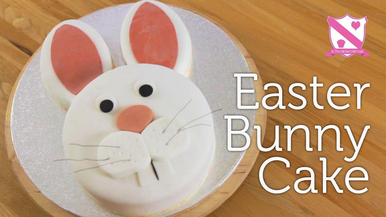 Easter Bunny Cake Decoration - YouTube