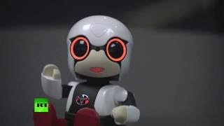 Robot of Hope: Toyota's Kirobo to accompany Japan's lonely & childless (subtitles)