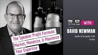 The Speaker Profit Formula: Market, Monetize, and Maximize Your Expertise