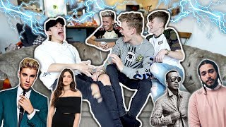 FINISH THE LYRIC CHALLENGE (SHOCK EDITION) || Bars and Melody ft. Lee Hinchcliffe & TheNewAdamb99