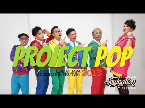 Project Pop Live at Java Soulnation 2013