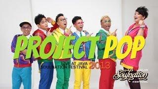 Project Pop Live at Java Soulnation 2013