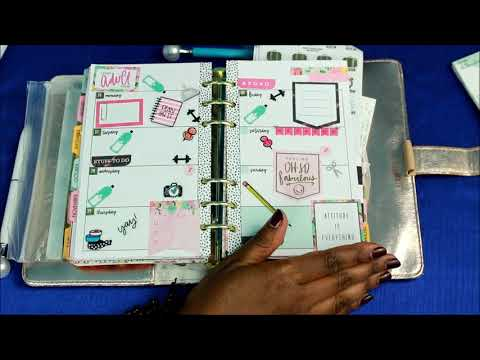 Plan with me in my Agenda 52 Planner November 26th-December 2nd 2018
