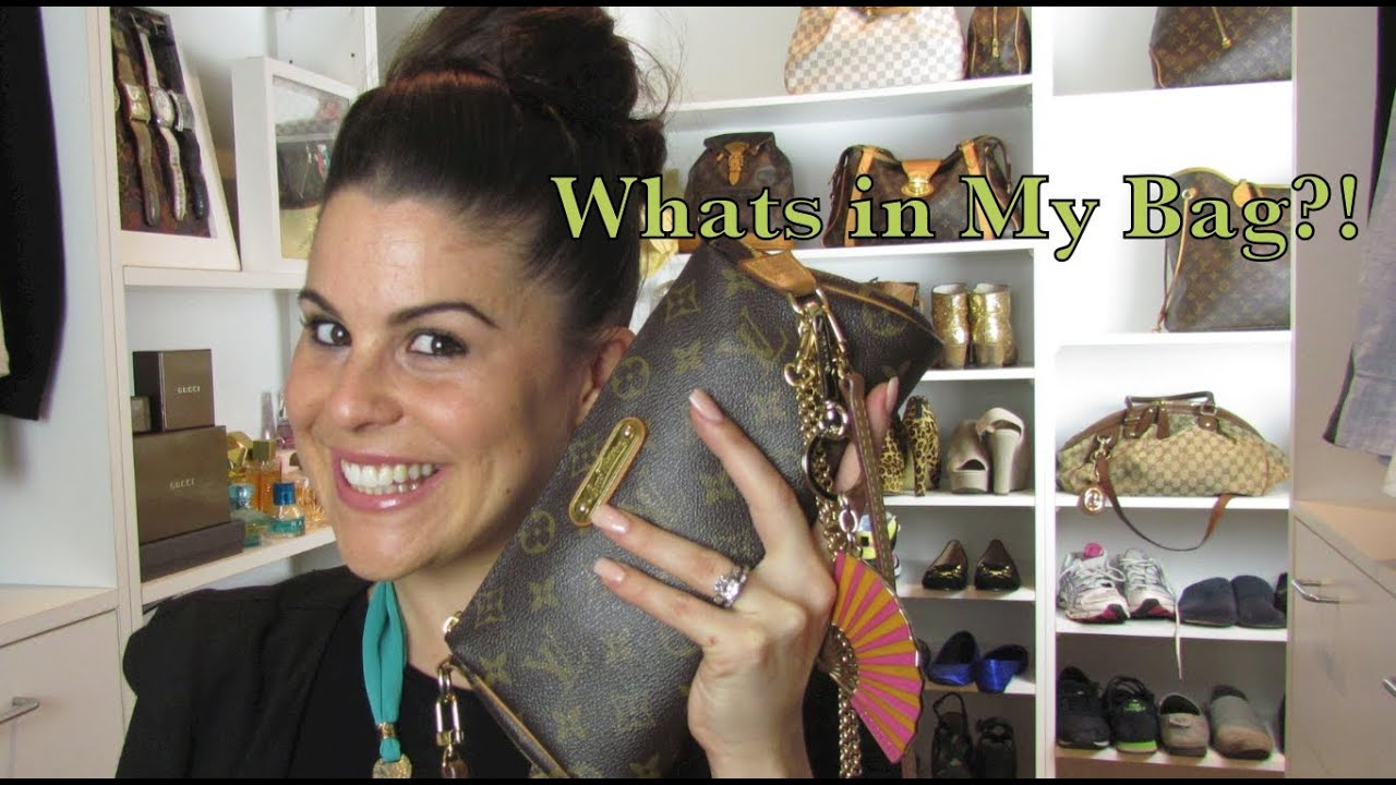 Utua Laukku : What s in my bag louis vuitton eva clutch