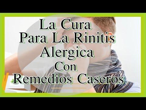 Como se cura la rinitis alergica cronica