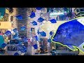 Стена-аквариум в магазине в Dubai Mall. 4K