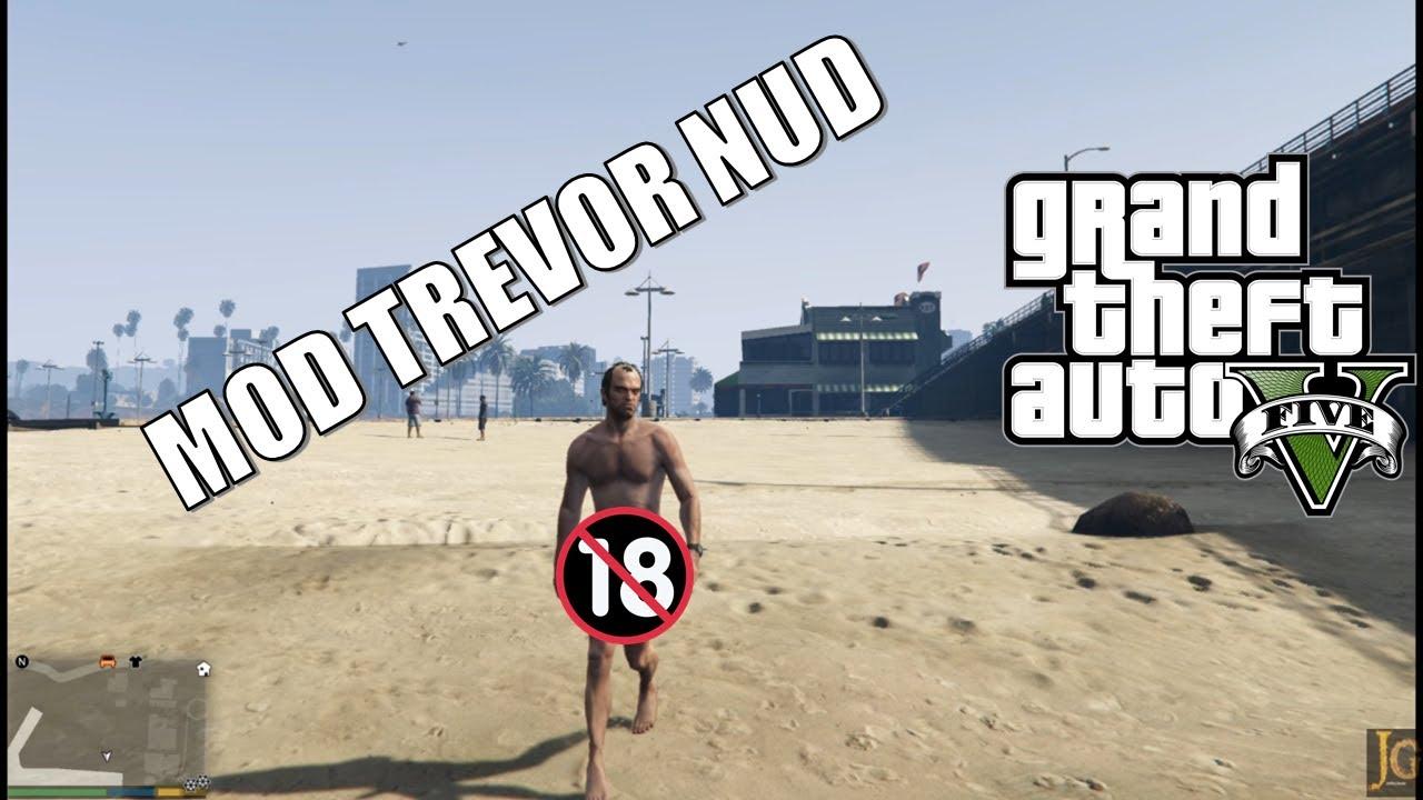 Grand Theft Auto V - Naked Old Man - YouTube
