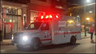 Chicago Fire Dept Ambulance 41 Transporting Truck 3