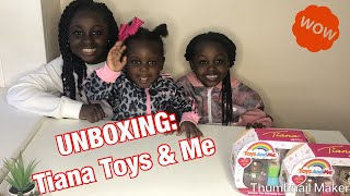 UNBOXING: TIANA TOYS & ME FIGURES