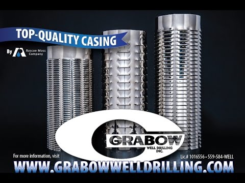Grabow Well Drilling Inc. features casing by Roscoe Moss Company