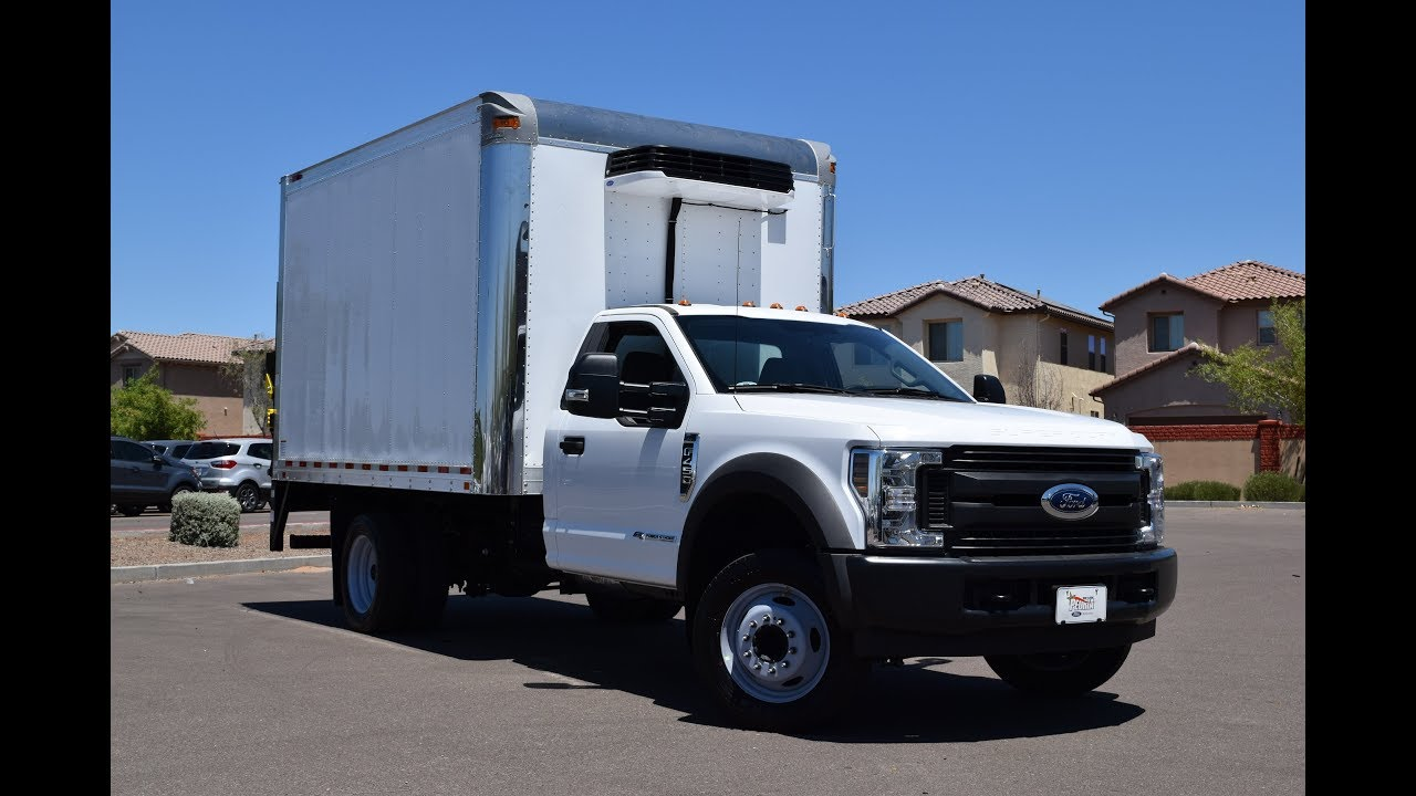 ford   refrigerated box truck youtube