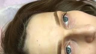 Перманентный макияж бровей ДО, ПОСЛЕ, и ЗАЖИВШИЕ брови(, 2018-08-08T19:48:33.000Z)