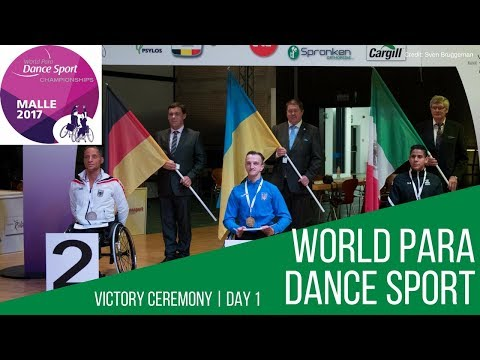 Day 1 Victory Ceremony | Malle 2017 | World Para Dance Sport Championships