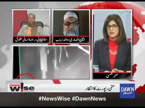 "Newswise - 23 January, 2018 ""Zainab Murderer Arrest, Rao Anwar Case"""