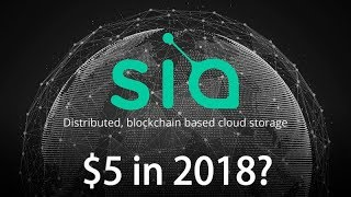 What is Siacoin (SC) and Why it Has Potential - Future of Cloud Storage? 2018 Altcoin Pick