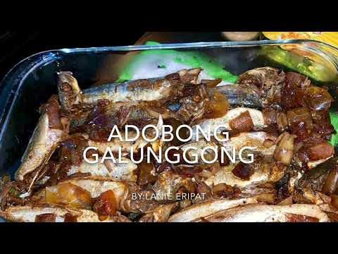 HOW TO COOK ADOBONG GALUNGGONG