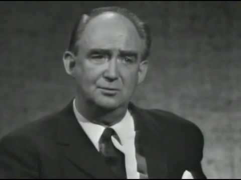 Valet 1968 - Sven Wedén (FP) frågas ut i SVT
