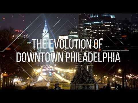 Evolution of the Downtown Philadelphia Skyline