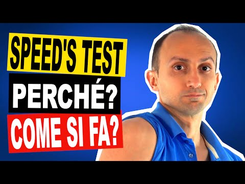 Speed's Test: A Cosa Serve, Come si Fa e Quanto è Affidabile