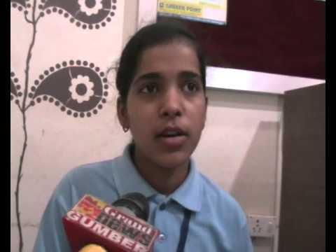 A Girl 10th High School Board School Exam Topper Bilaspur Chhattisgarh