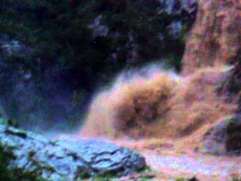 mineral del monte cascada agosto 2010