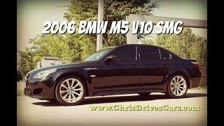 """BMW M5 V10 SMG - """"Chris Drives Cars"""" Video Test Drive"""