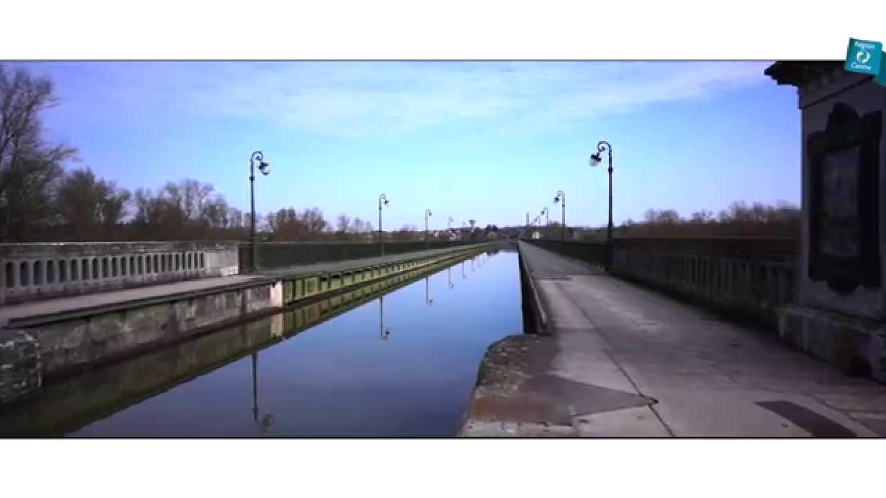 Le pont canal de briare dans le loiret r gion centre val for Region loiret