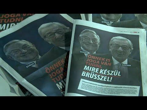 euronews (en español): Polémica campaña del Gobierno húngaro contra la UE y Juncker