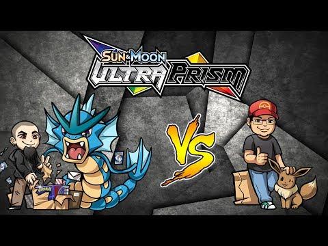 Ultra Prism Pokemon TCG Opening: Derium VS Mikey Battle
