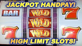 HIGH LIMIT PLATINUM 7s SLOT MACHINE ➜ JACKPOT HANDPAY!
