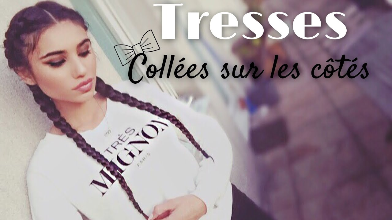 photo comment faire 2 tresses collees