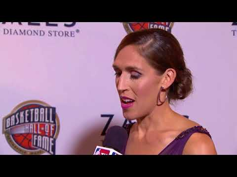 Hall Of Fame Ceremony: Rebecca Lobo Interview || NBA || Sep, 8th 2017